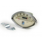 Odometer fan-shaped with scale numbering 120 km/h for vespa gs 160, gs 150 vs5t, 180 ss