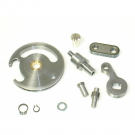 Conversion kit for gear selector, from 1 to 2 cables, for Vespa PK50 XL FL, HP, XL2, PK125 N, XL2
