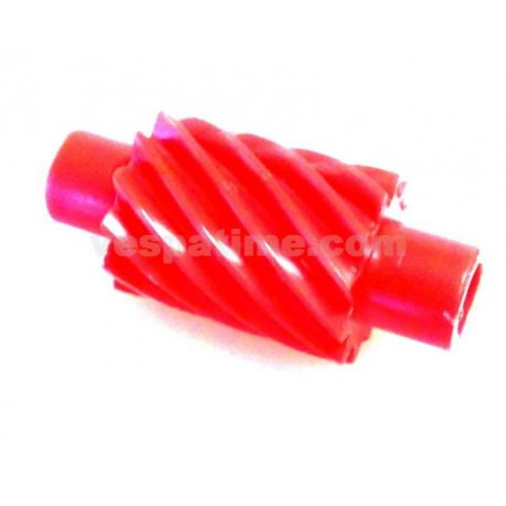 Odometer drive gear 12 teeth red for transmission vespa pk 125