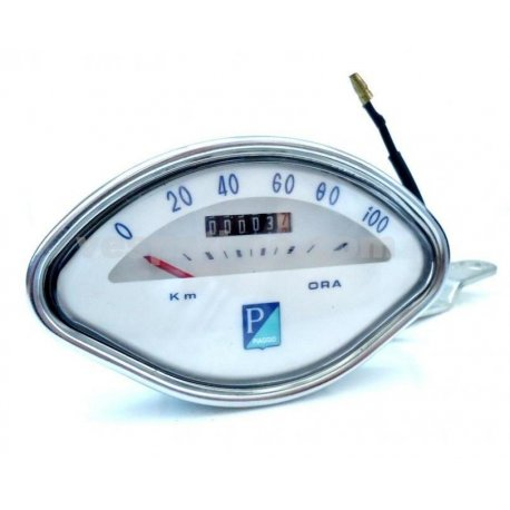 Odometer with scale numbering 100 km/h for vespa 150 vbb1t→2t, 150 vba1t, 150 gl