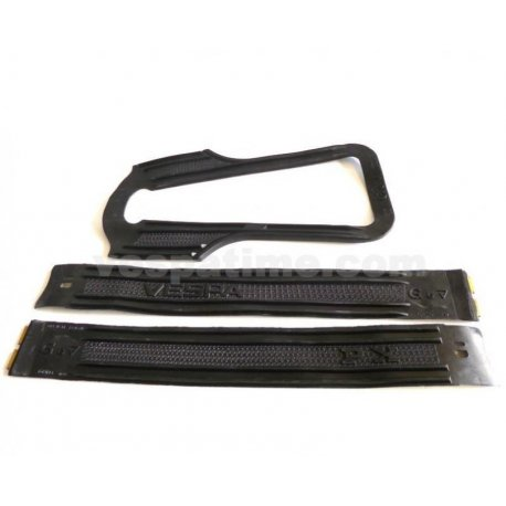 Set of rubber buffer strips for side panels vespa px all series