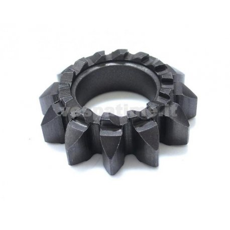 Starter gear z12 14 teeth hole ø 22 mm for vespa 125 vna1t→2t, vnb1t→4t, 150 vba1t