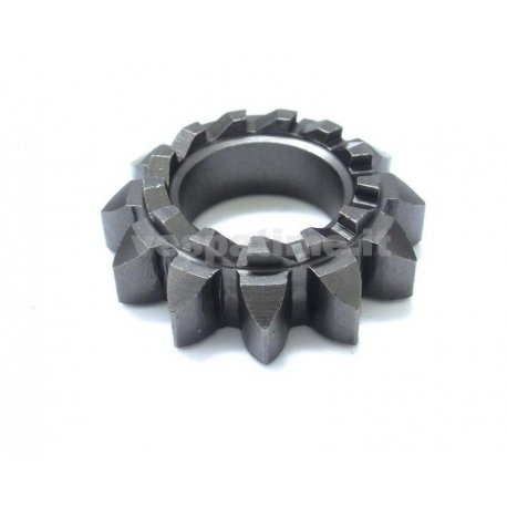 Starter gear z12 13 teeth hole ø 22 mm for 125 vnb5t→6t, 125/150 super vnc1t, 150 vbb1t→2t, p150s from 1978
