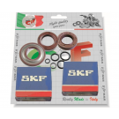 Kit bearings and oil seals for overhauling crankshaft for vespa 50/90/125 primavera/et3, pk, pk xl, fl