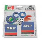 Kit bearings and oil seals for overhauling crankshaft for vespa 50/90/125 primavera/et3, pk, pk xl, fl. economy version