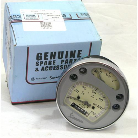 Odometer for vespa px latest series piaggio original disc brake