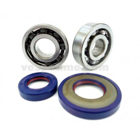 Kit oil seals and bearings crankshaft cone 19, polini