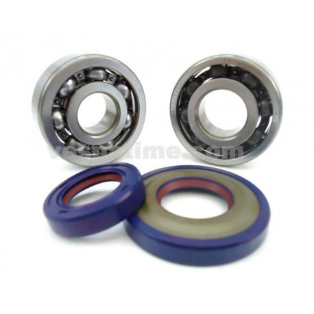 Kit oil seals and bearings crankshaft cone 20, polini