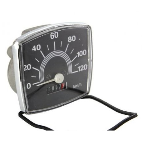 Odometer for vespa 50 special scale numbering 120 km/h