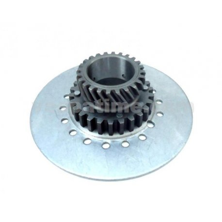 Pinion engine gear drt vespa px 200 z24 on z65, seven-spring clutches