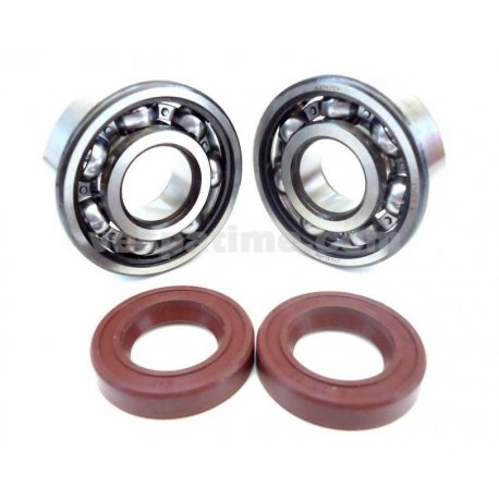 Kit quattrini bearings and oil seals crankshaft for crankcase quattrini
