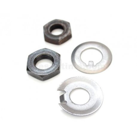Kit nut and washer fastening clutch and pinion primary for vespa 50/90/125 primavera/et3, pk