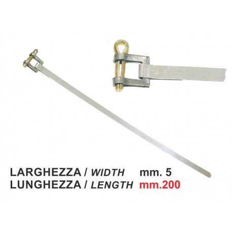 Clamp for different applications. width 5mm, length 200mm