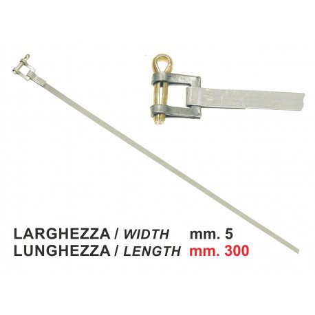 Clamp for different applications. width 5mm, length 300mm