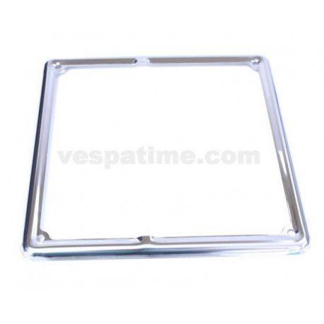 Frame number plate chrome for new registration plates dimensions 180mmx180mm