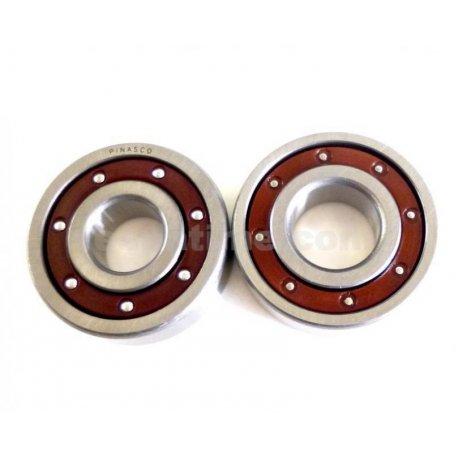 Kit bearings pinasco for vespa smallframe (flywheel side and clutch side)