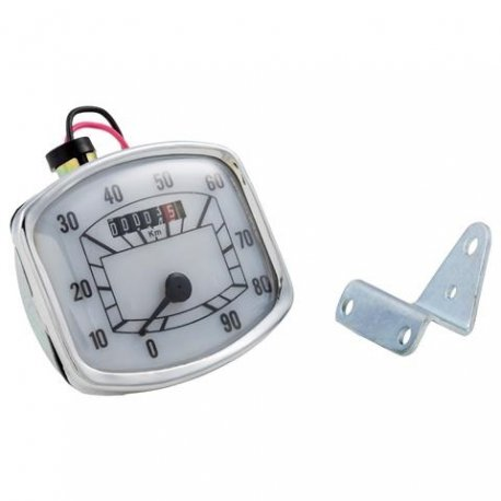 Odometer for vespa 150 vb1t scale numbering 90 km/h