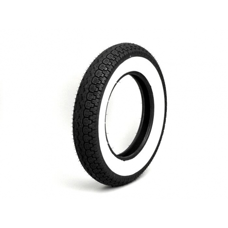 Tyre 3.50-10 white band sawa