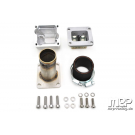 MRP reed manifold to crankcase vespa smallframe for RD350 reed valve, d.30mm - COMPLETE