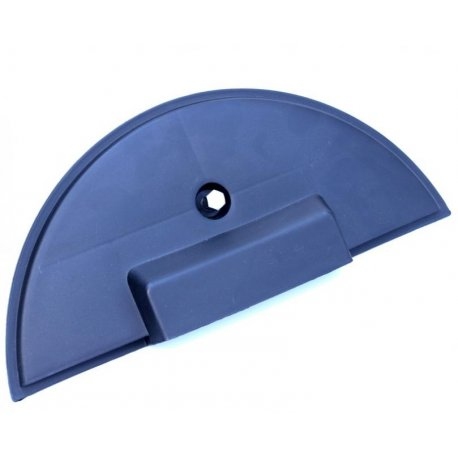 Cover protection spare wheel grey plastic for vespa px/pe