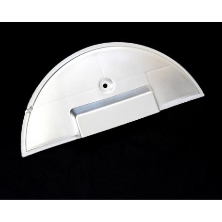 Cover protection spare wheel chrome plastic for vespa px/pe