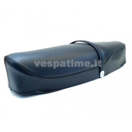Two-seater saddle dark blue vespa 180/200 rally. spaam