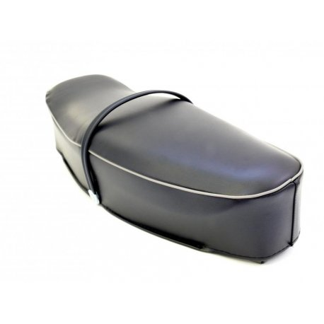 Two-seater saddle dark blue