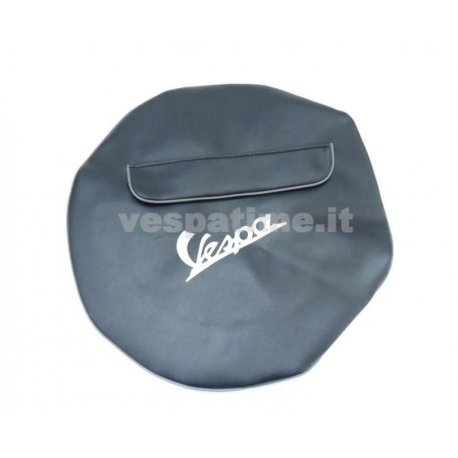 Cover black 10-inch spare wheel