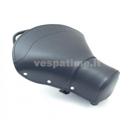 Single-seater saddle set dark blue for vespa 125 vnb1t→6t, 150 vba1t, vbb1t→2t, gl , super, sprint.