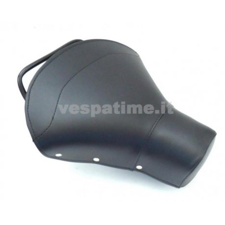 Single-seater saddle set black, for vespa 125 vnb1t/6t, 150 vba1t, vbb1t/2t, gl, super, sprint.