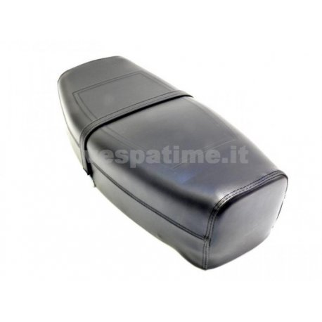 Two-seater saddle px/pe arcobaleno black. spaam