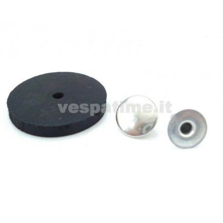 Kit fitting button for two-seater saddle type sprint, gt, gtr, ts, 180ss