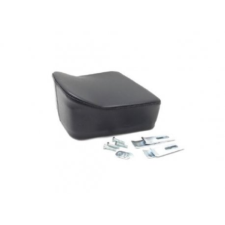 Rear cushion dark blue specific for vespa 50 small cover. it can be fitted on our luggage carrier plates p 046 and p065