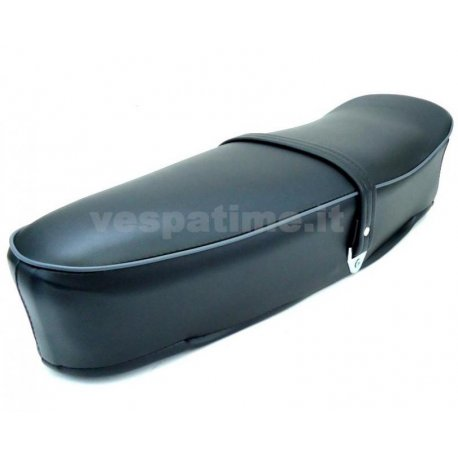 Two-seater saddle black vespa 125 primavera vma1t→2t, adaptable to vespa 50