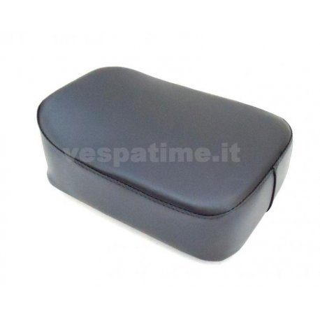 Rear cushion black rectangular for luggage carrier from 1959. specific for luggage carrier plate our product p049