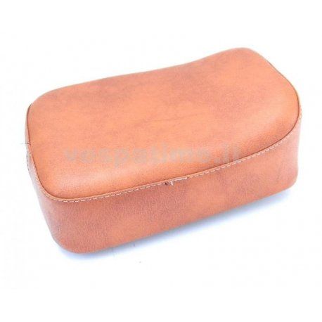 Rear cushion brown rectangular for luggage carrier from 1959. specific for luggage carrier plate our product p049