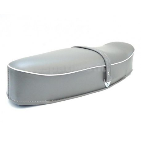 Two-seater saddle grey