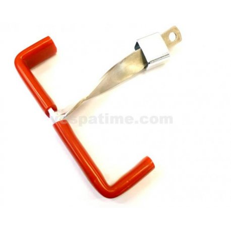 Anti-theft device for lock steel for vespa px/pe, gl, sprint, sprint veloce, gt/gtr/ts, super, rally