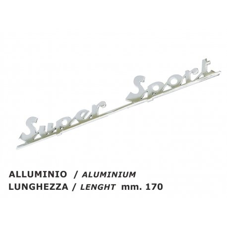 "Rear emblem ""supersport"""