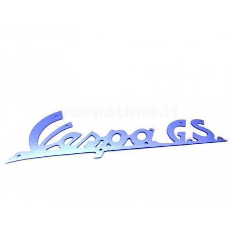 "Front emblem legshield vespa gs ""vespa gs"" for 150 vs1t→5t export or optional"