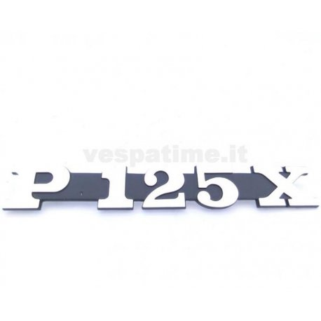 """Anagrama lateral """"p125x"""""""