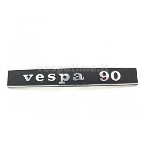 "Rear emblem ""vespa 90"" metal"