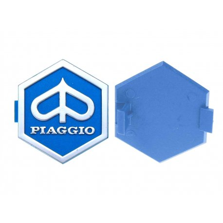 "Shield ""piaggio"" hexagonal 31 mm slot-in for vespa px all arcobaleno"