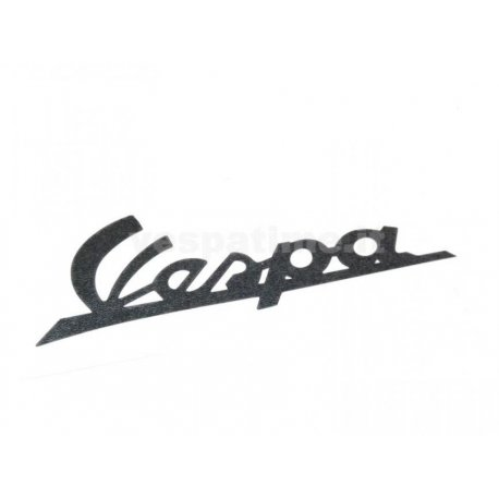 "Emblem ""vespa"" for vespa125 vnb4t dark blue adhesive"