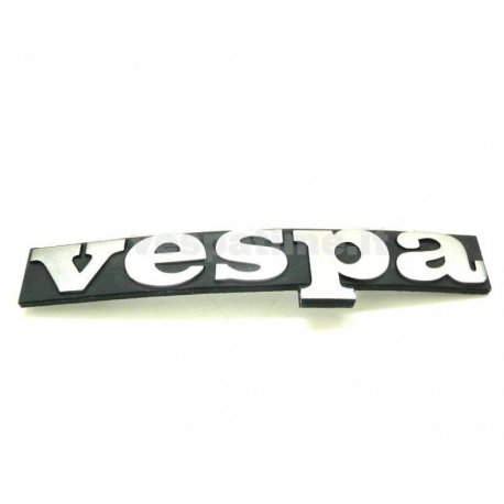 "Emblem legshield ""vespa"" for pk and pkxl 55 mm holes centre distance"