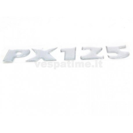 Adhesive emblem for vespa px125 latest series