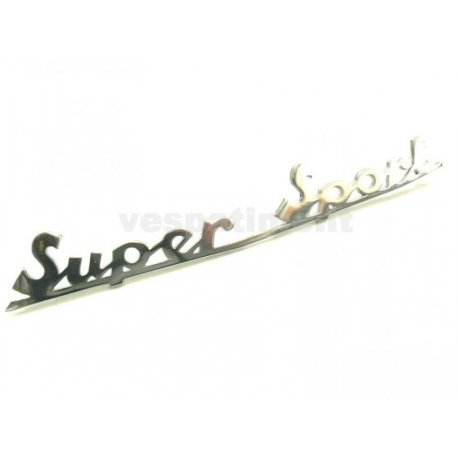 "Rear emblem ""supersport"", handcrafted"