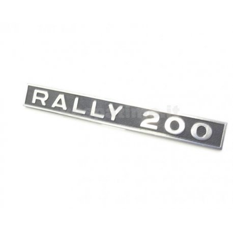 "Emblem vespa ""rally 200"" from 1972 until 1974"