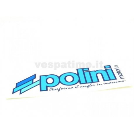Polini sticker. length 120mm, height 44mm