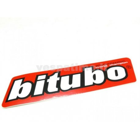 Bitubo sticker. length 135mm, height 38mm